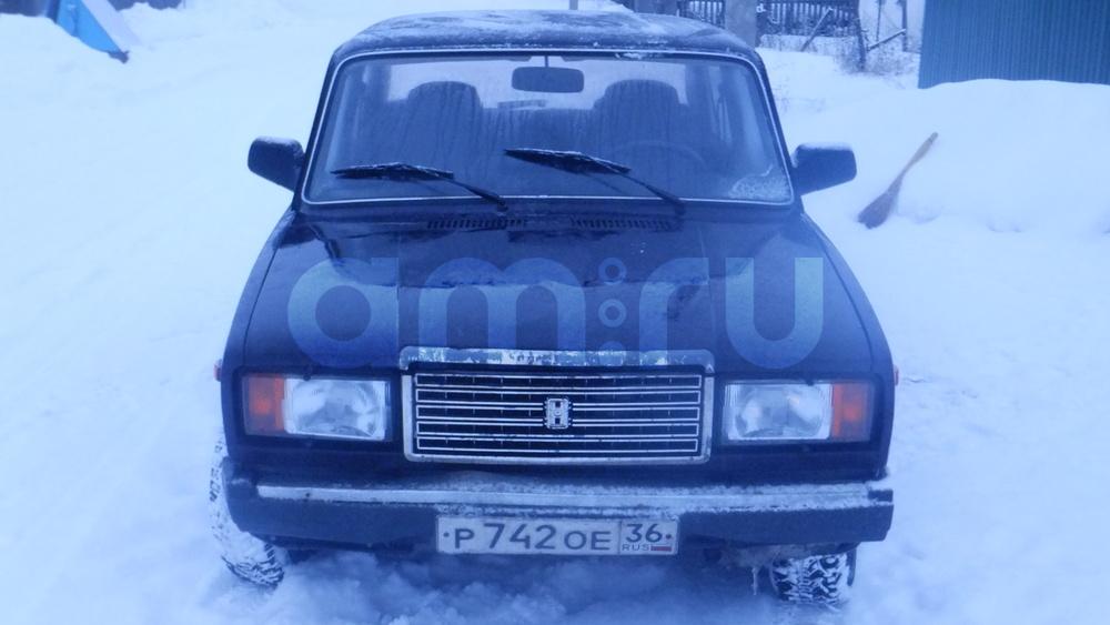 Подержанный ВАЗ (Lada) 2107, отличное состояние, коричневый , 2008 года выпуска, цена 90 000 руб. в Воронежской области