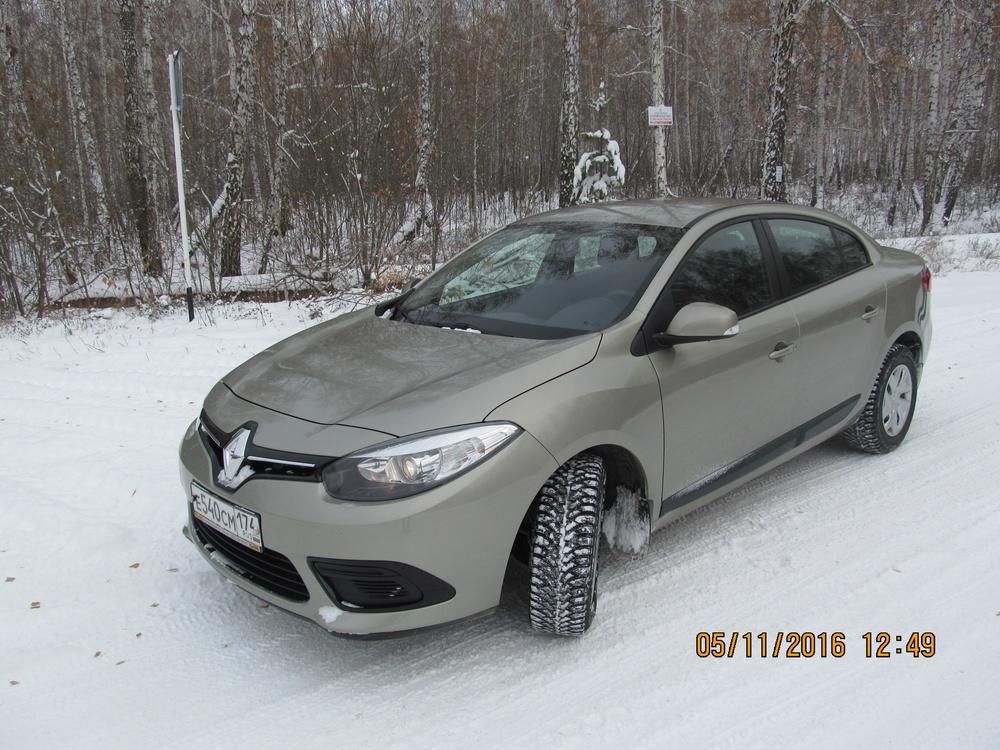 Подержанный Renault Fluence, отличное состояние, бежевый металлик, 2013 года выпуска, цена 550 000 руб. в Челябинской области