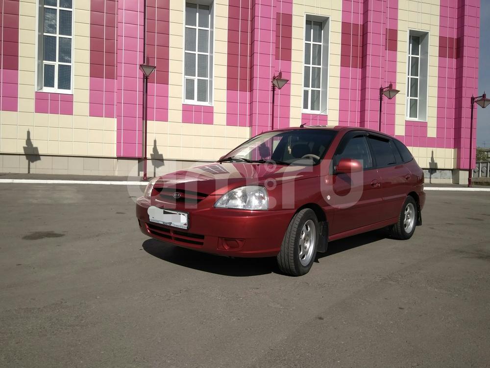 Подержанный Kia Rio, хорошее состояние, бордовый , 2005 года выпуска, цена 249 000 руб. в Омске