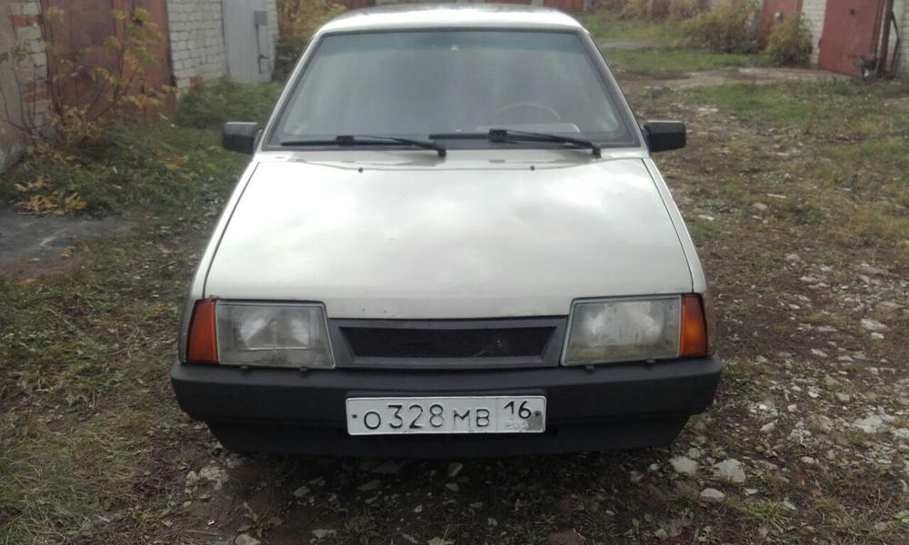 Подержанный ВАЗ (Lada) 2109, среднее состояние, оранжевый , 2002 года выпуска, цена 35 000 руб. в республике Татарстане