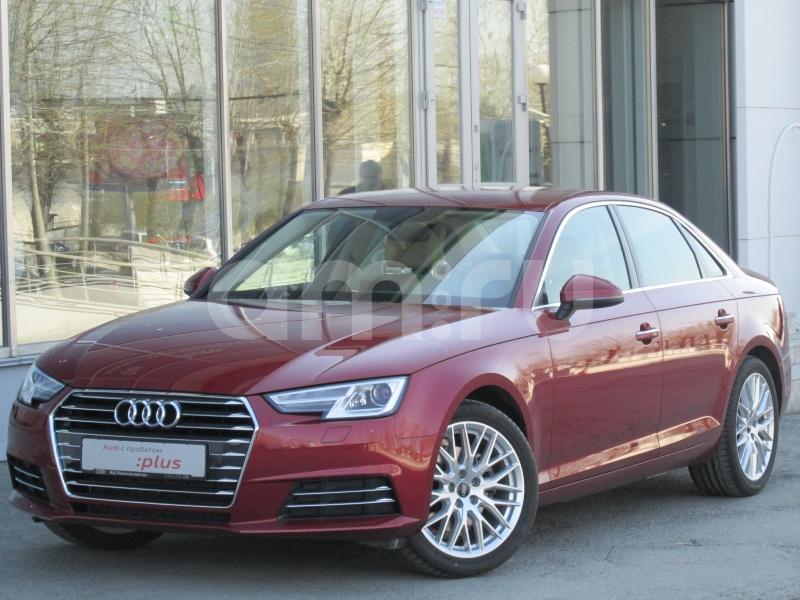 Audi A4 с пробегом, красный , отличное состояние, 2016 года выпуска, цена 1 836 000 руб. в автосалоне  ()