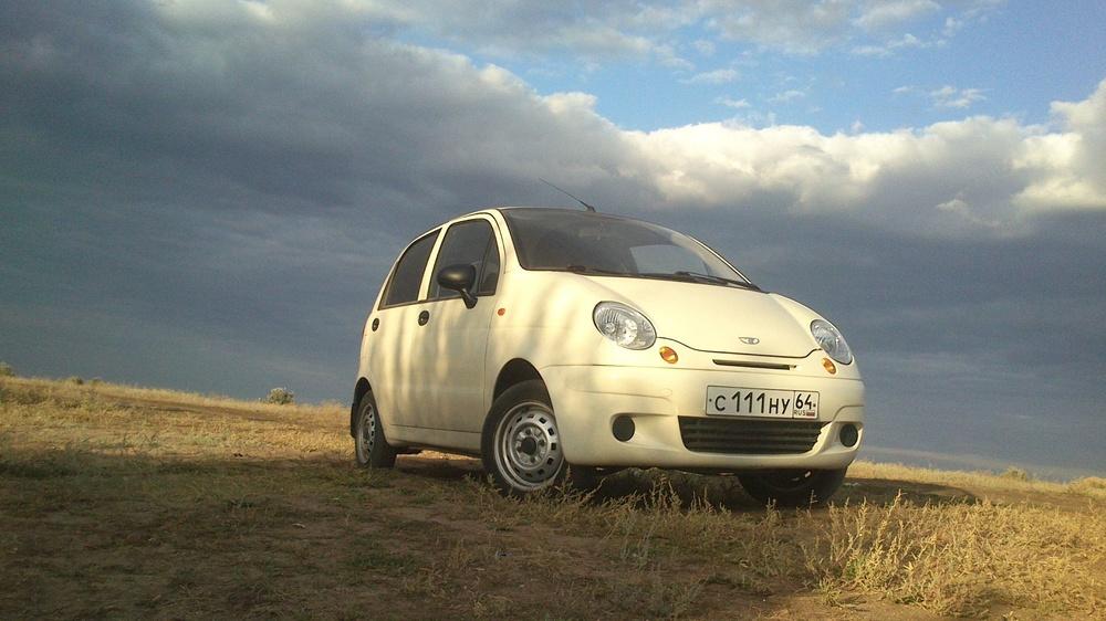 Подержанный Daewoo Matiz, отличное состояние, бежевый , 2010 года выпуска, цена 165 000 руб. в Саратове