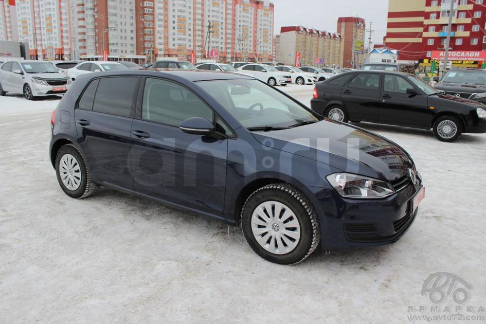 Volkswagen Golf с пробегом, синий , отличное состояние, 2013 года выпуска, цена 695 000 руб. в автосалоне  ()