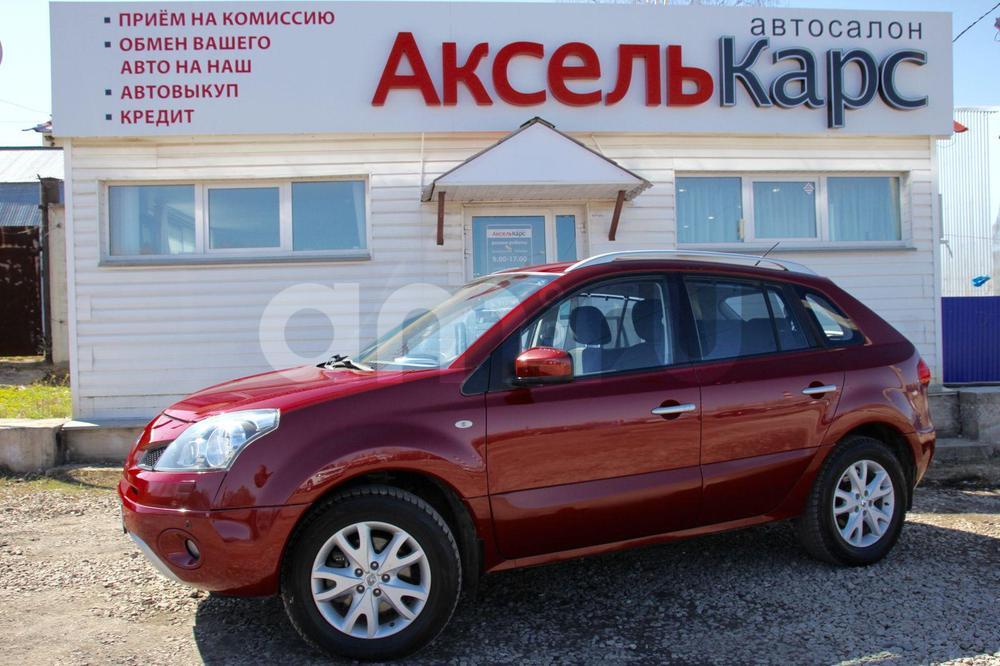 Renault Koleos с пробегом, красный , отличное состояние, 2009 года выпуска, цена 599 000 руб. в автосалоне Аксель Карс (Киров, ул. Ломоносова, д. 3Б)
