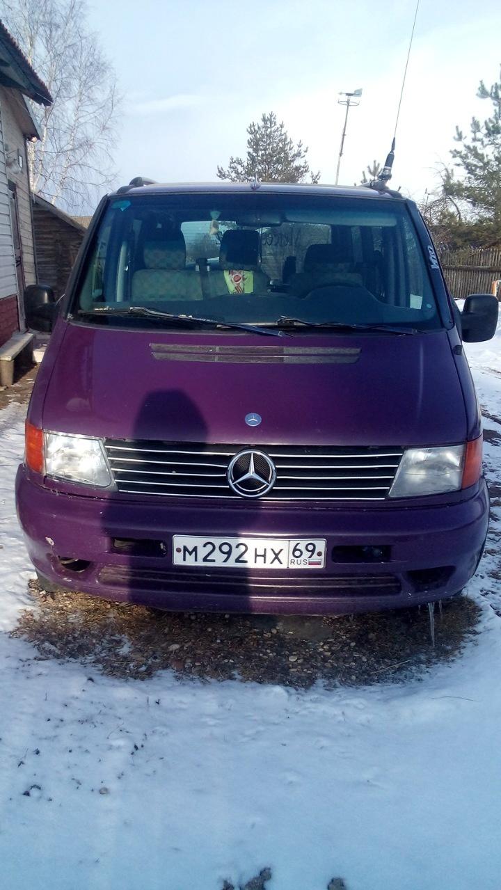 Подержанный Mercedes-Benz Vito, хорошее состояние, фиолетовый , 1998 года выпуска, цена 370 000 руб. в Тверской области