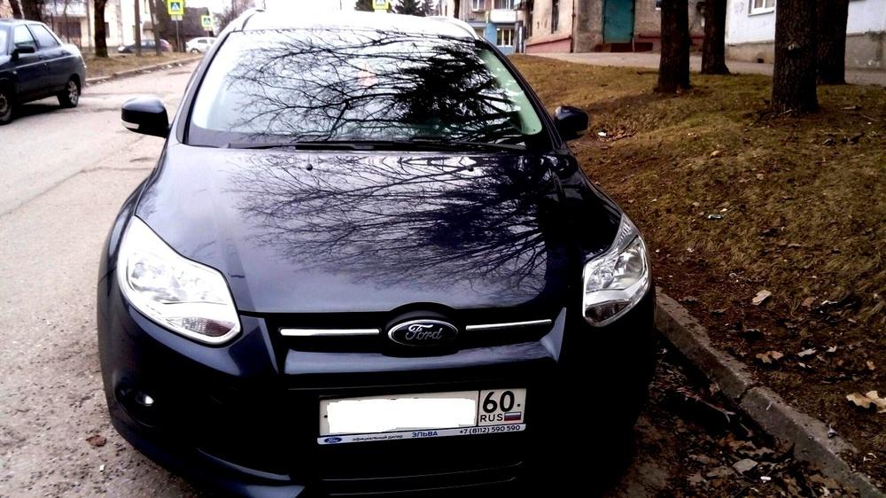 Подержанный Ford Focus, отличное состояние, синий , 2012 года выпуска, цена 515 000 руб. в Пскове
