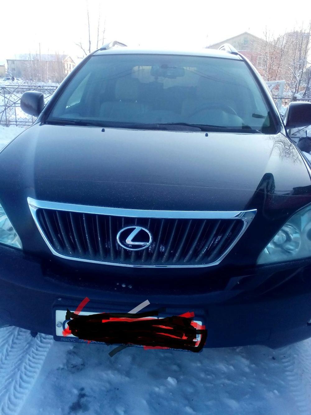 Подержанный Lexus RX, отличное состояние, черный , 2008 года выпуска, цена 1 150 000 руб. в ао. Ханты-Мансийском Автономном округе - Югре