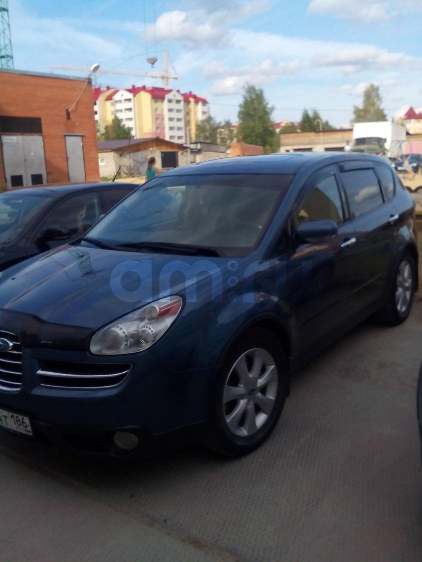 Подержанный Subaru Tribeca, хорошее состояние, синий , 2006 года выпуска, цена 750 000 руб. в ао. Ханты-Мансийском Автономном округе - Югре