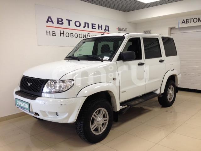 УАЗ Patriot с пробегом, белый , отличное состояние, 2014 года выпуска, цена 460 000 руб. в автосалоне  ()