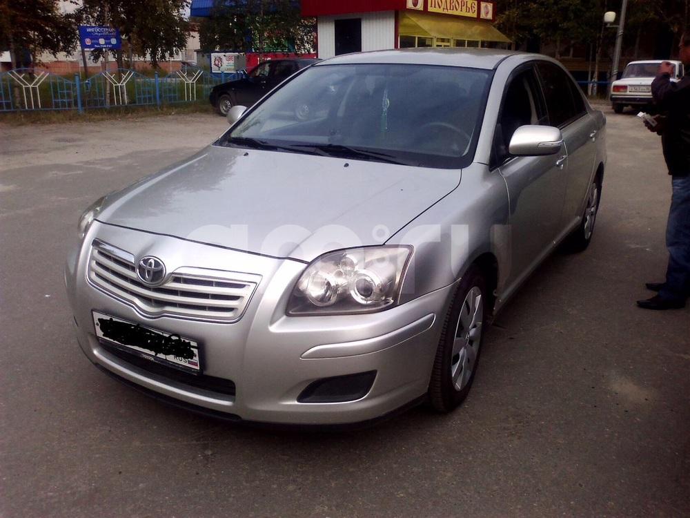 Подержанный Toyota Avensis, отличное состояние, бежевый , 2007 года выпуска, цена 500 000 руб. в ао. Ханты-Мансийском Автономном округе - Югре