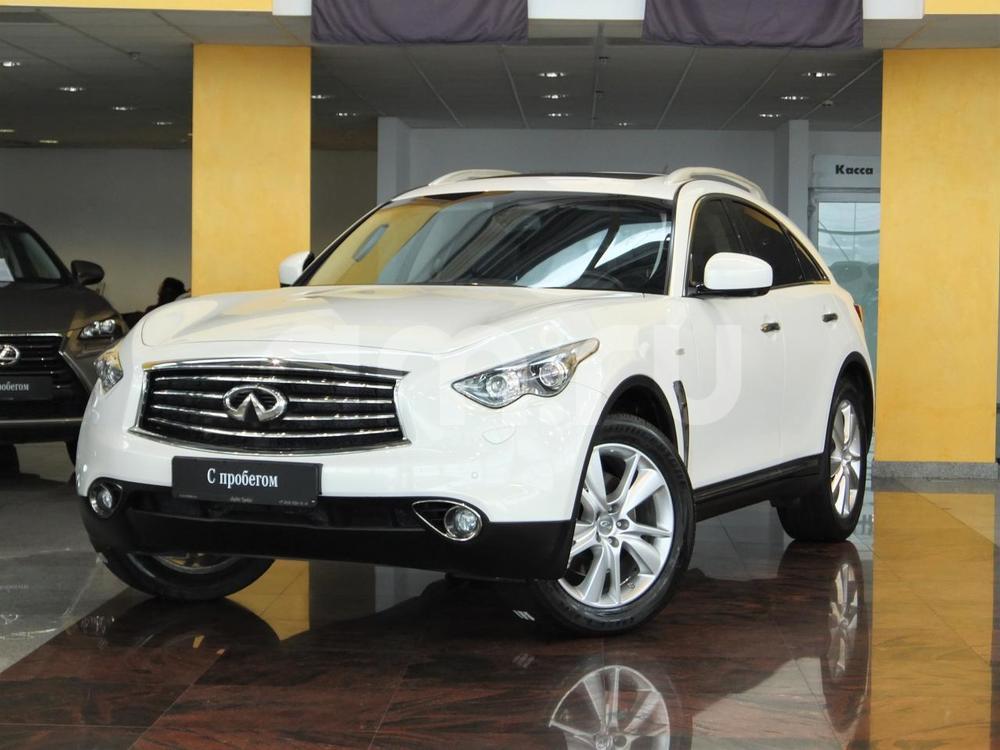 Infiniti FX-Series с пробегом, белый , отличное состояние, 2013 года выпуска, цена 1 714 000 руб. в автосалоне  ()