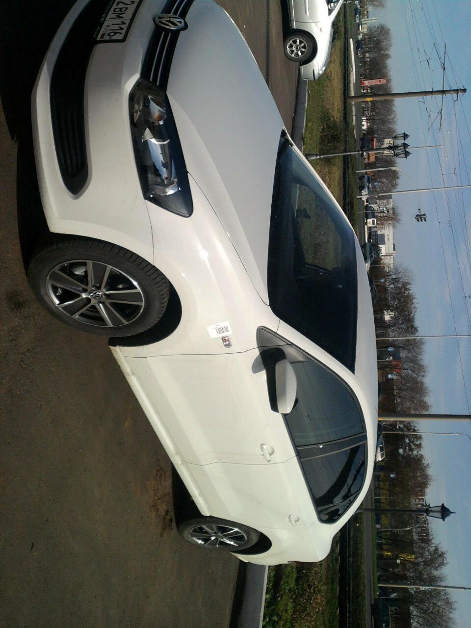 Подержанный Volkswagen Polo, отличное состояние, белый , 2012 года выпуска, цена 450 000 руб. в республике Татарстане