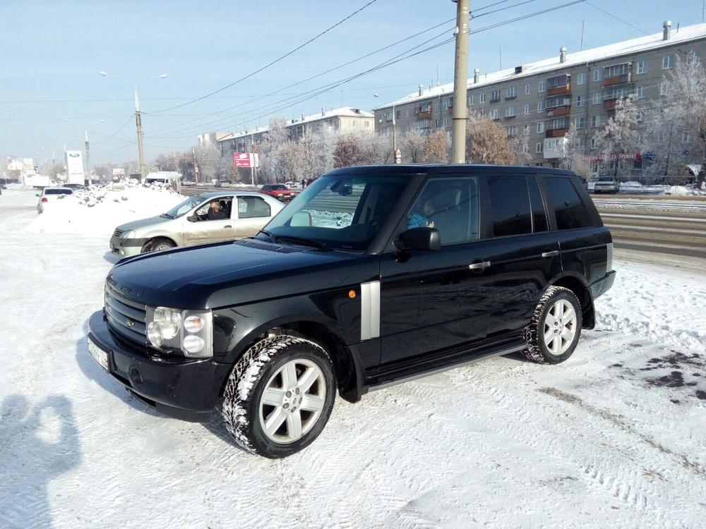 Подержанный Land Rover Range Rover Evoque, хорошее состояние, черный , 2004 года выпуска, цена 545 000 руб. в Челябинской области