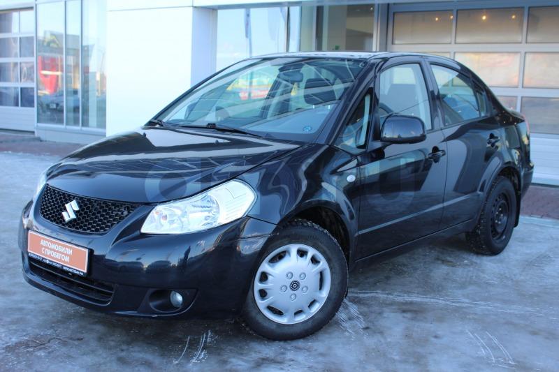 Suzuki SX4 с пробегом, черный , отличное состояние, 2008 года выпуска, цена 399 000 руб. в автосалоне  ()