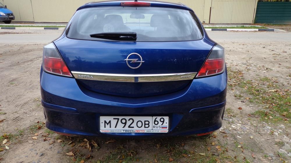 Подержанный Opel Astra, отличное состояние, синий , 2010 года выпуска, цена 404 999 руб. в Твери