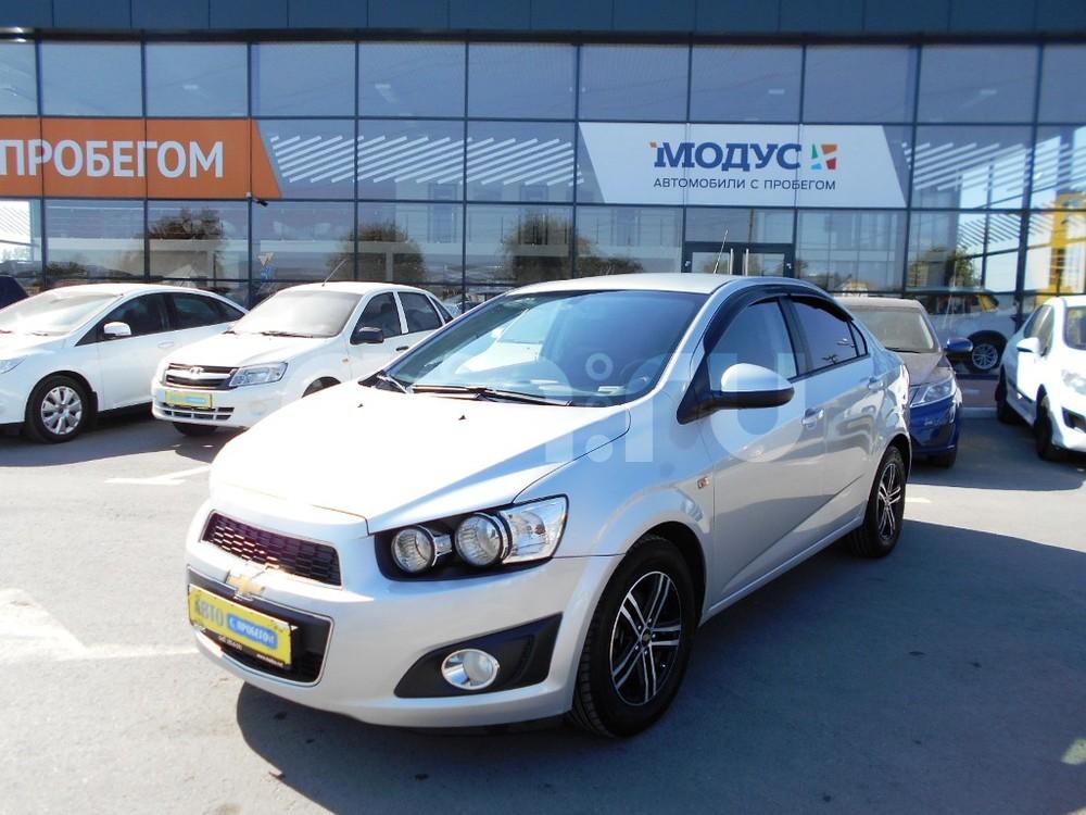 Chevrolet Aveo с пробегом, серебряный , отличное состояние, 2012 года выпуска, цена 435 000 руб. в автосалоне  ()