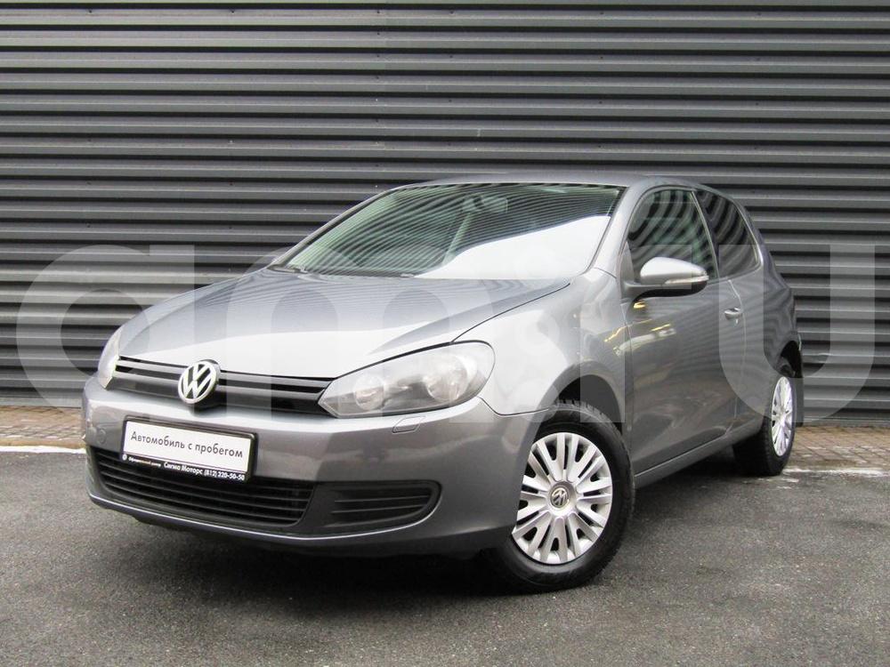 Volkswagen Golf с пробегом, серый металлик, отличное состояние, 2010 года выпуска, цена 371 300 руб. в автосалоне  ()