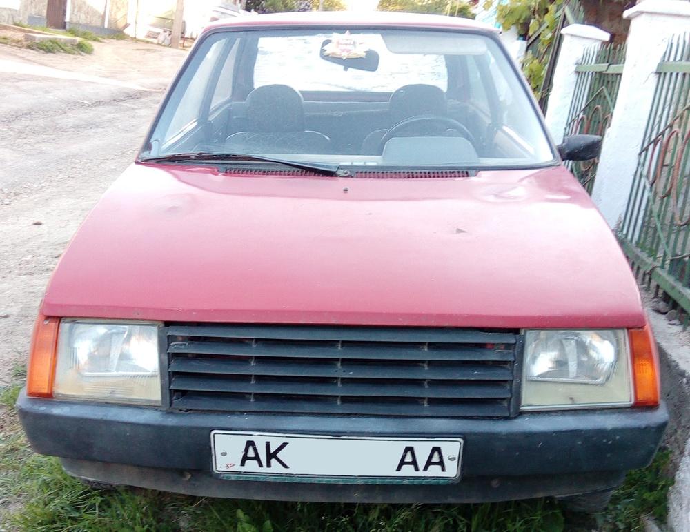 Подержанный ЗАЗ 1102, среднее состояние, красный , 1994 года выпуска, цена 16 000 руб. в Крыму