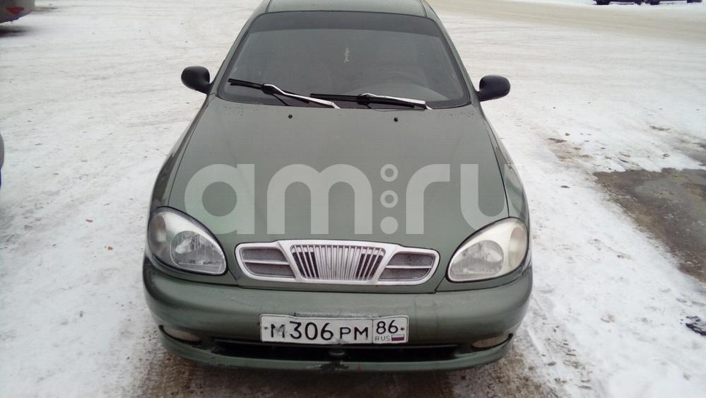 Подержанный Chevrolet Lanos, хорошее состояние, зеленый , 2006 года выпуска, цена 120 000 руб. в ао. Ханты-Мансийском Автономном округе - Югре