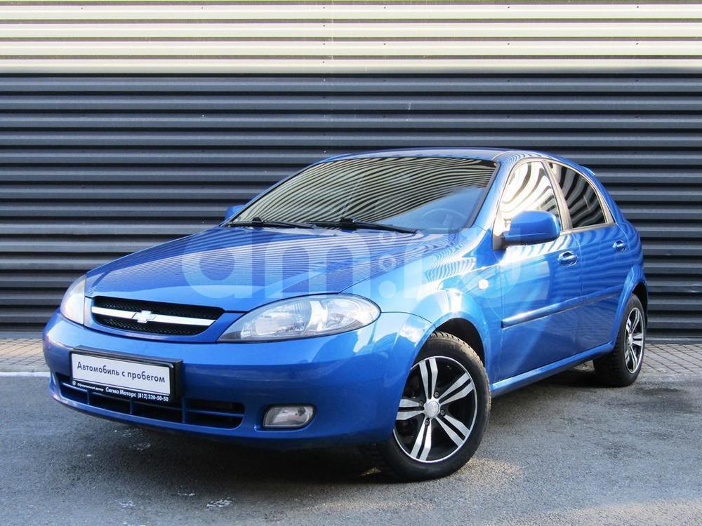 Chevrolet Lacetti с пробегом, синий , отличное состояние, 2010 года выпуска, цена 296 100 руб. в автосалоне  ()