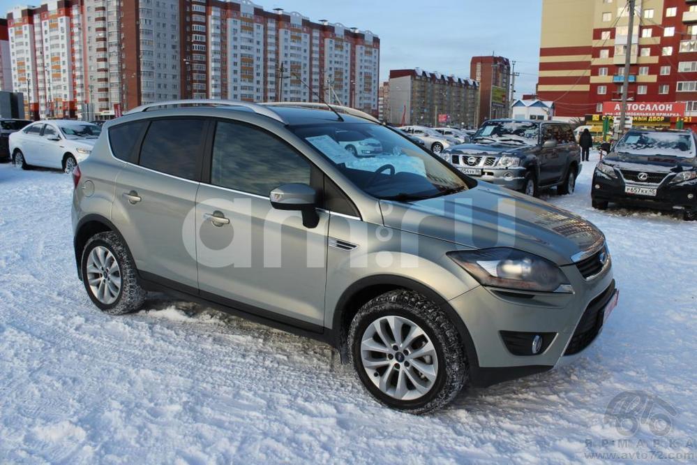 Ford Kuga с пробегом, бежевый , отличное состояние, 2010 года выпуска, цена 750 000 руб. в автосалоне  ()