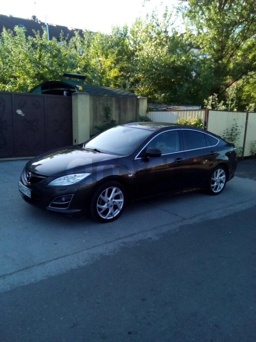 Подержанный Mazda 6, отличное состояние, коричневый перламутр, 2011 года выпуска, цена 650 000 руб. в Ульяновске