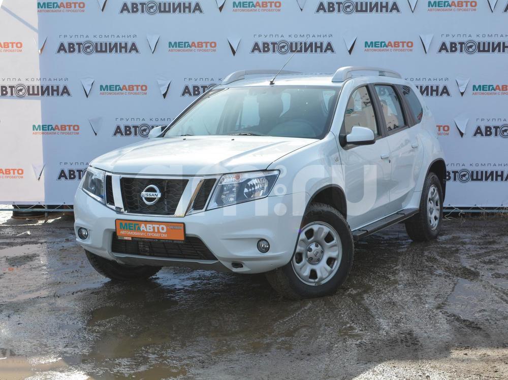 Nissan Terrano с пробегом, белый , отличное состояние, 2014 года выпуска, цена 722 000 руб. в автосалоне  ()