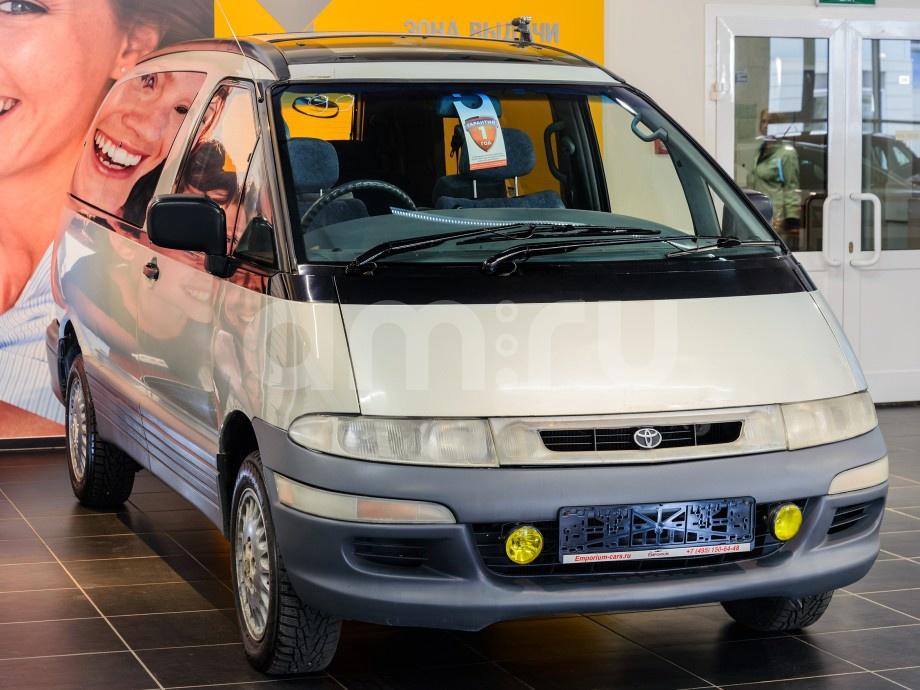 Toyota Estima с пробегом, серебряный , отличное состояние, 1999 года выпуска, цена 189 000 руб. в автосалоне  ()