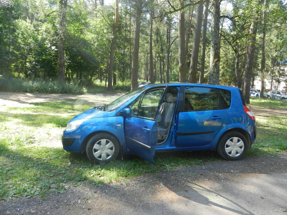 Подержанный Renault Scenic, отличное состояние, синий металлик, 2006 года выпуска, цена 290 000 руб. в Смоленской области