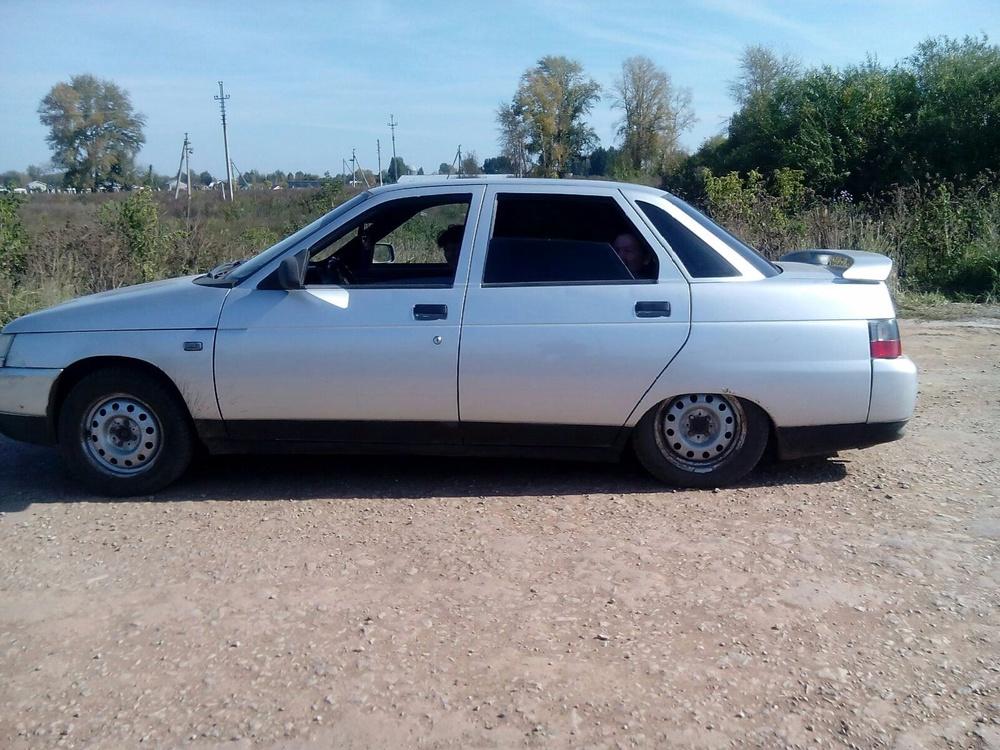 Подержанный ВАЗ (Lada) 2110, среднее состояние, серебряный , 2002 года выпуска, цена 50 000 руб. в республике Татарстане