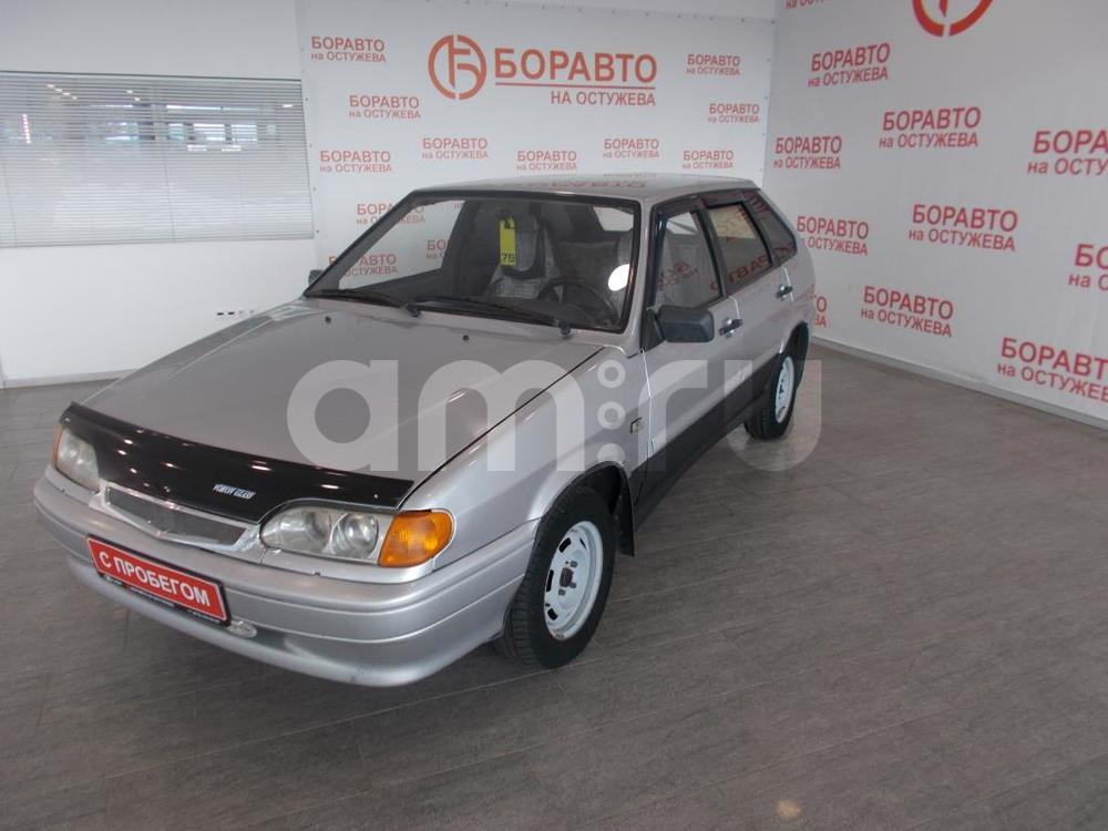 ВАЗ (Lada) 2114 с пробегом, серебряный , отличное состояние, 2008 года выпуска, цена 77 000 руб. в автосалоне  ()