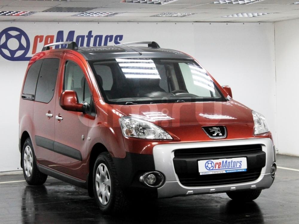 Peugeot Partner с пробегом, красный , отличное состояние, 2012 года выпуска, цена 439 000 руб. в автосалоне ReMotors (Москва, ш. Варшавское, д. 87Б (минус 2-ой этаж ТЦ, ст. м. Варшавское))