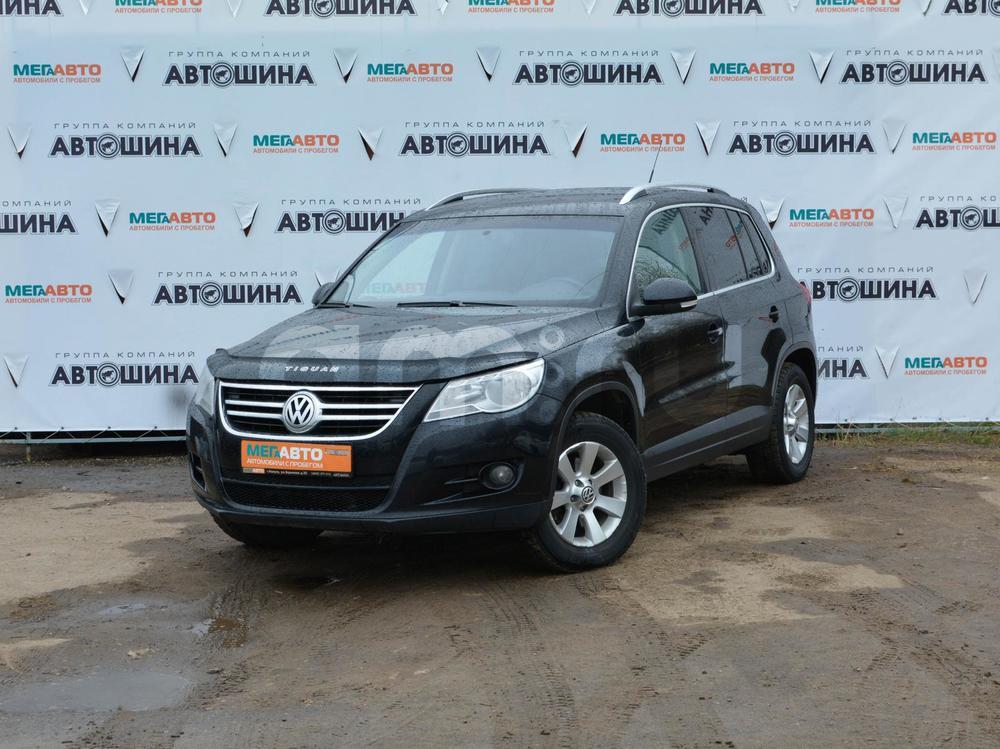 Volkswagen Tiguan с пробегом, черный , отличное состояние, 2010 года выпуска, цена 730 000 руб. в автосалоне Мега Авто Калуга (Калуга, ул. Зерновая, д. 28)