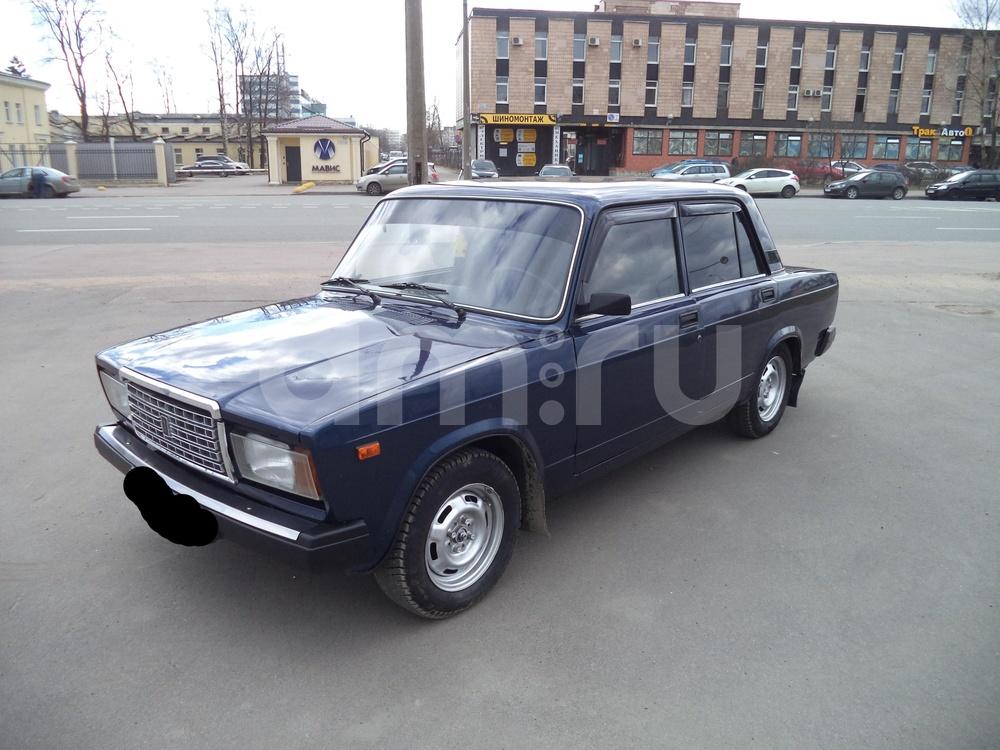 ВАЗ (Lada) 2107 с пробегом, синий , отличное состояние, 2011 года выпуска, цена 99 000 руб. в автосалоне Инфо Кар Плюс (Санкт-Петербург, дорога на Турухтанные острова, д. 10)