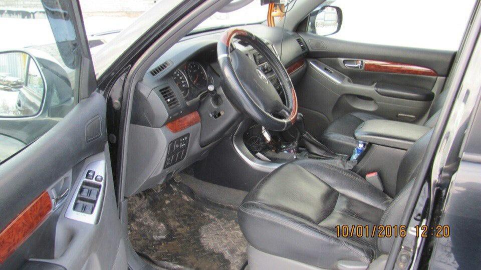 Подержанный Toyota Land Cruiser Prado, отличное состояние, черный , 2006 года выпуска, цена 1 120 000 руб. в Смоленской области