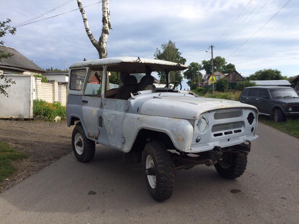 Подержанный УАЗ 3151, хорошее состояние, серый , 1999 года выпуска, цена 80 000 руб. в Смоленской области