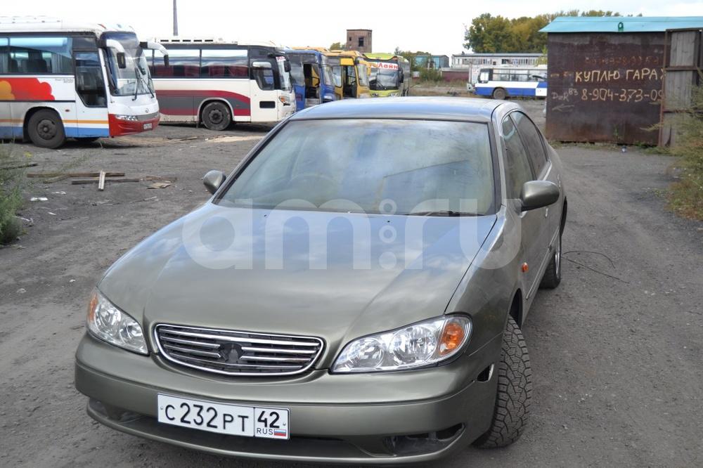 Подержанный Nissan Cefiro, отличное состояние, бежевый , 2001 года выпуска, цена 250 000 руб. в Кемеровской области