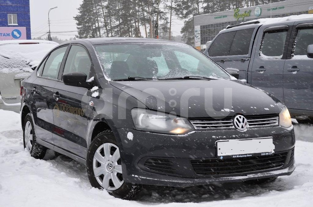 Volkswagen Polo с пробегом, серый , отличное состояние, 2012 года выпуска, цена 427 000 руб. в автосалоне Березовский привоз (Екатеринбург, тракт Березовский, д. 4Б)