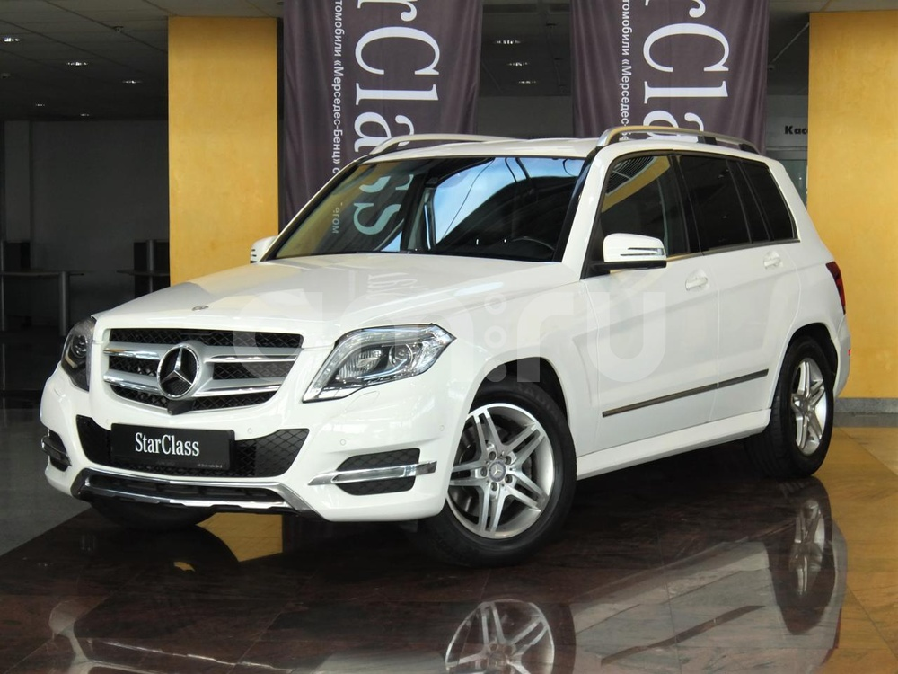 Mercedes-Benz GLK-Класс с пробегом, белый , отличное состояние, 2014 года выпуска, цена 1 734 000 руб. в автосалоне  ()