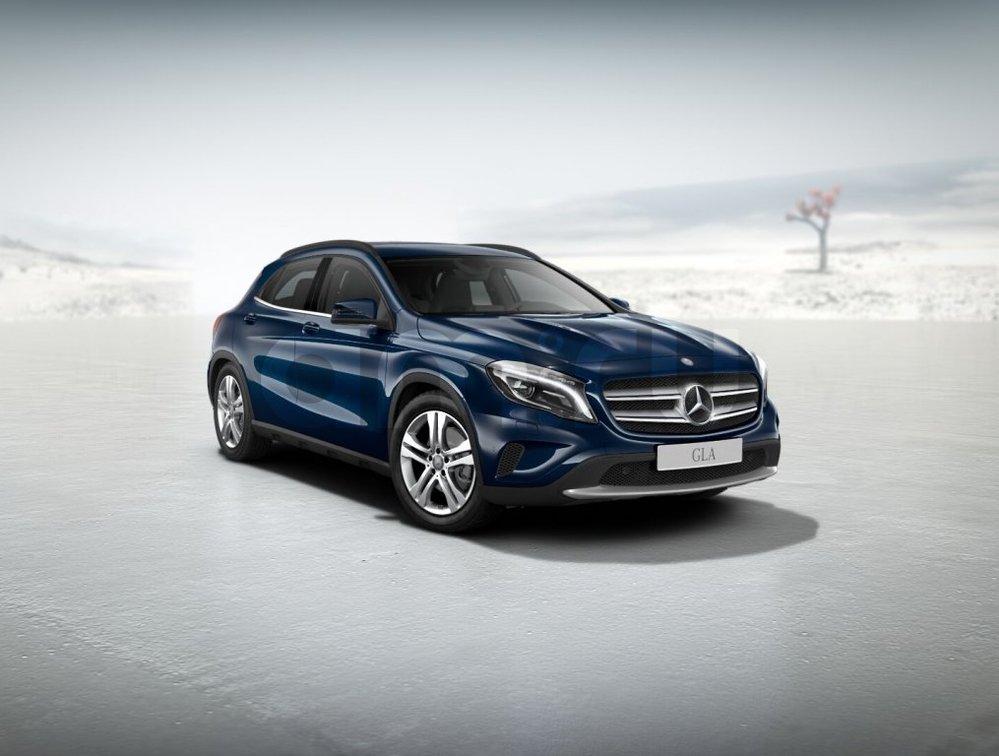 Новый авто Mercedes-Benz GLA-Класс, синий металлик, 2016 года выпуска, цена 2 370 000 руб. в автосалоне МБ-Орловка (Набережные Челны, тракт Мензелинский, д. 24)