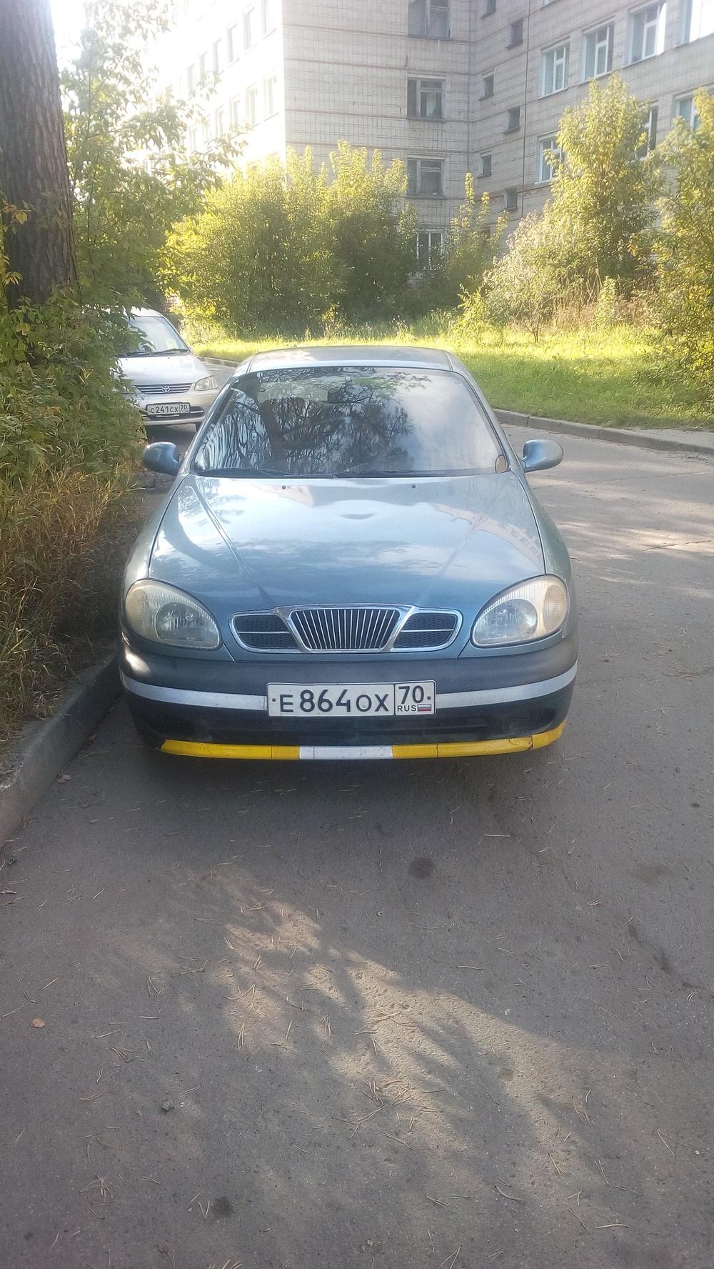 Подержанный Chevrolet Lanos, хорошее состояние, голубой , 2008 года выпуска, цена 150 000 руб. в Томской области