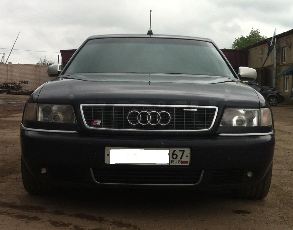 Подержанный Audi S8, плохое состояние, синий , 1998 года выпуска, цена 250 000 руб. в Смоленской области