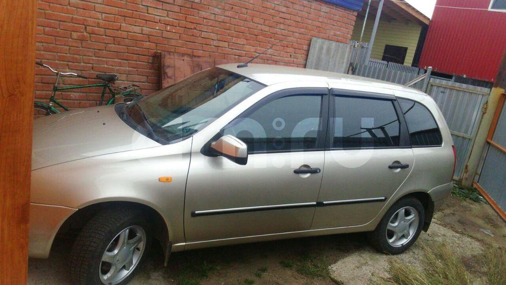 Подержанный ВАЗ (Lada) Kalina, отличное состояние, бежевый , 2012 года выпуска, цена 260 000 руб. в республике Татарстане