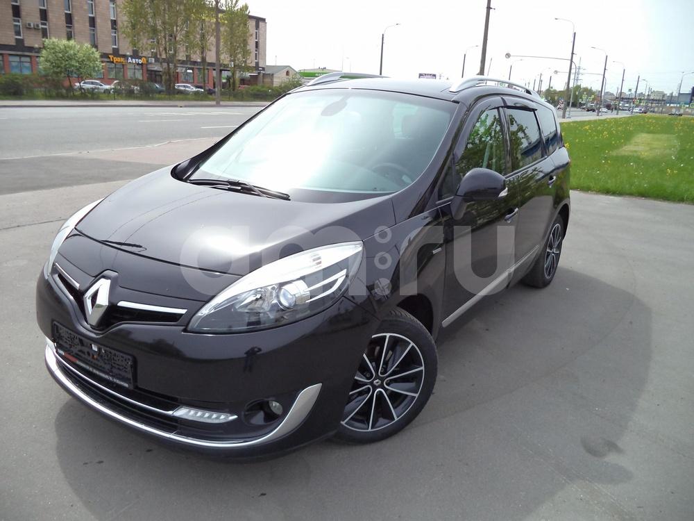 Renault Scenic с пробегом, черный металлик, отличное состояние, 2013 года выпуска, цена 799 000 руб. в автосалоне Инфо Кар Плюс (Санкт-Петербург, дорога на Турухтанные острова, д. 10)