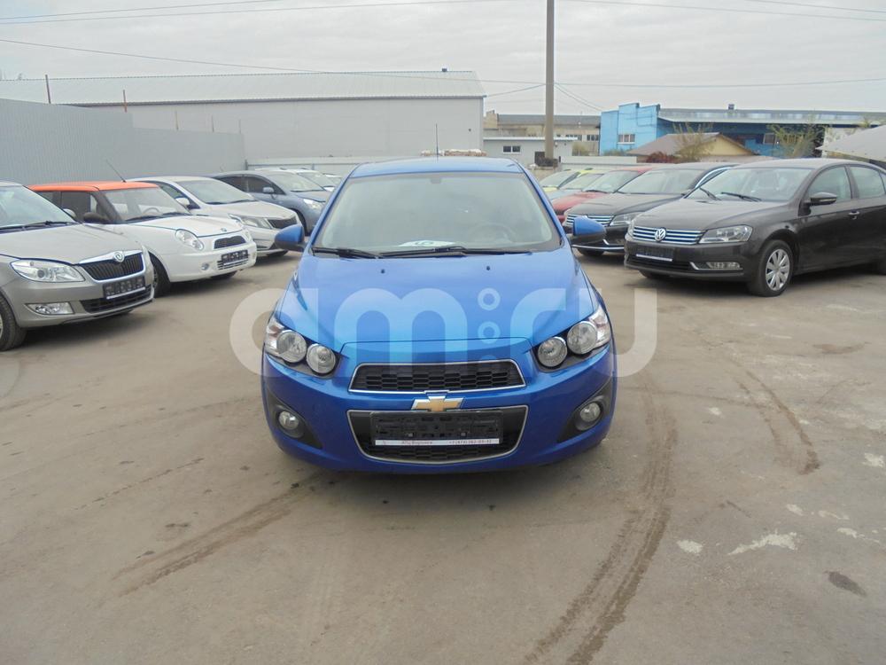 Chevrolet Aveo с пробегом, синий металлик, отличное состояние, 2013 года выпуска, цена 480 000 руб. в автосалоне  ()