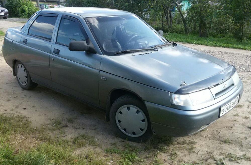 Подержанный ВАЗ (Lada) 2110, хорошее состояние, серый металлик, 2006 года выпуска, цена 90 000 руб. в Смоленской области