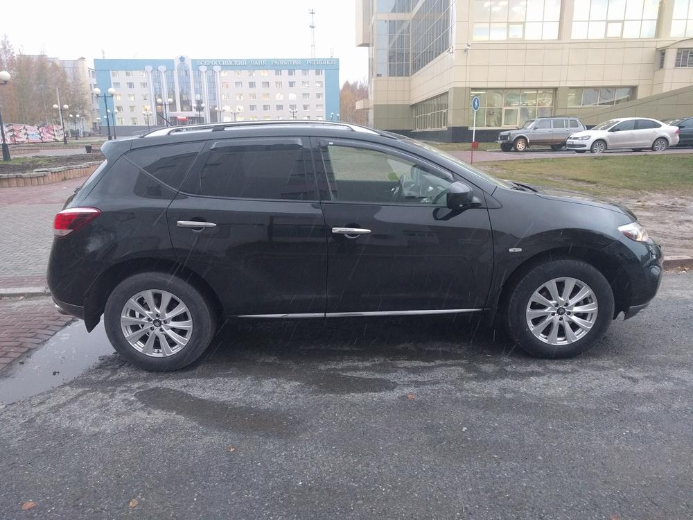 Подержанный Nissan Murano, отличное состояние, черный , 2013 года выпуска, цена 1 350 000 руб. в ао. Ханты-Мансийском Автономном округе - Югре