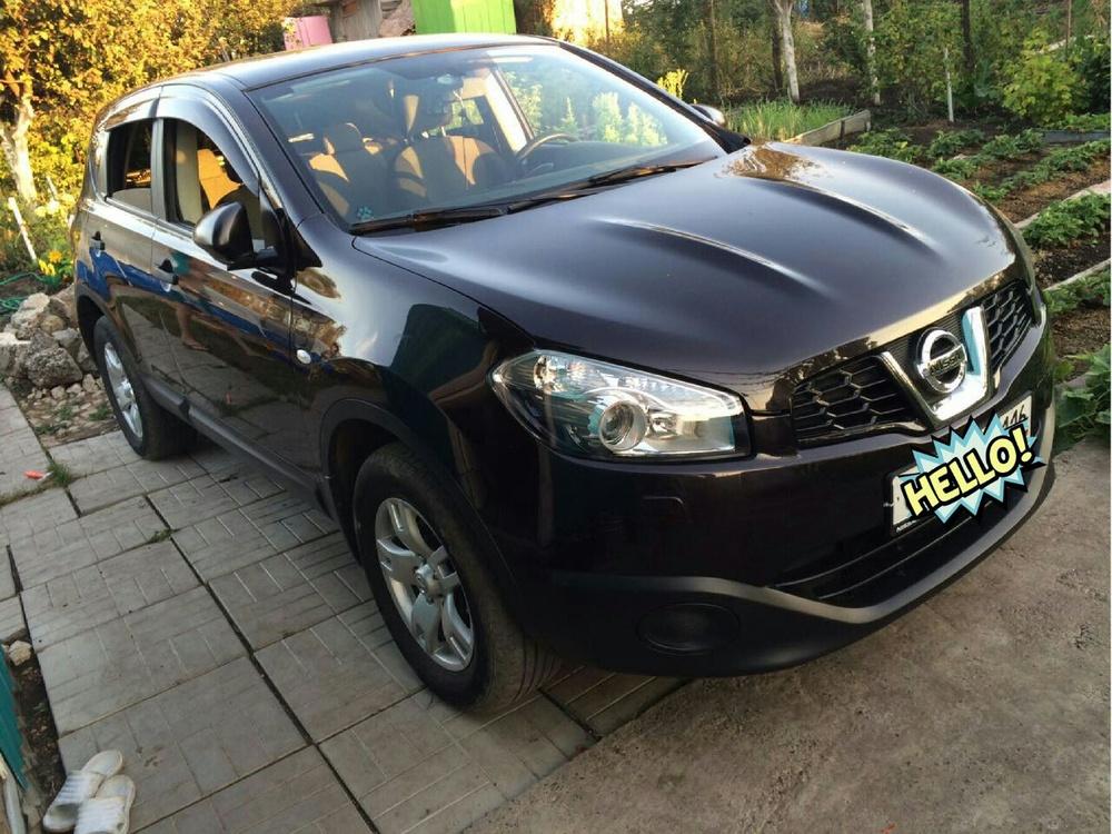 Подержанный Nissan Qashqai, хорошее состояние, черный , 2011 года выпуска, цена 720 000 руб. в республике Татарстане