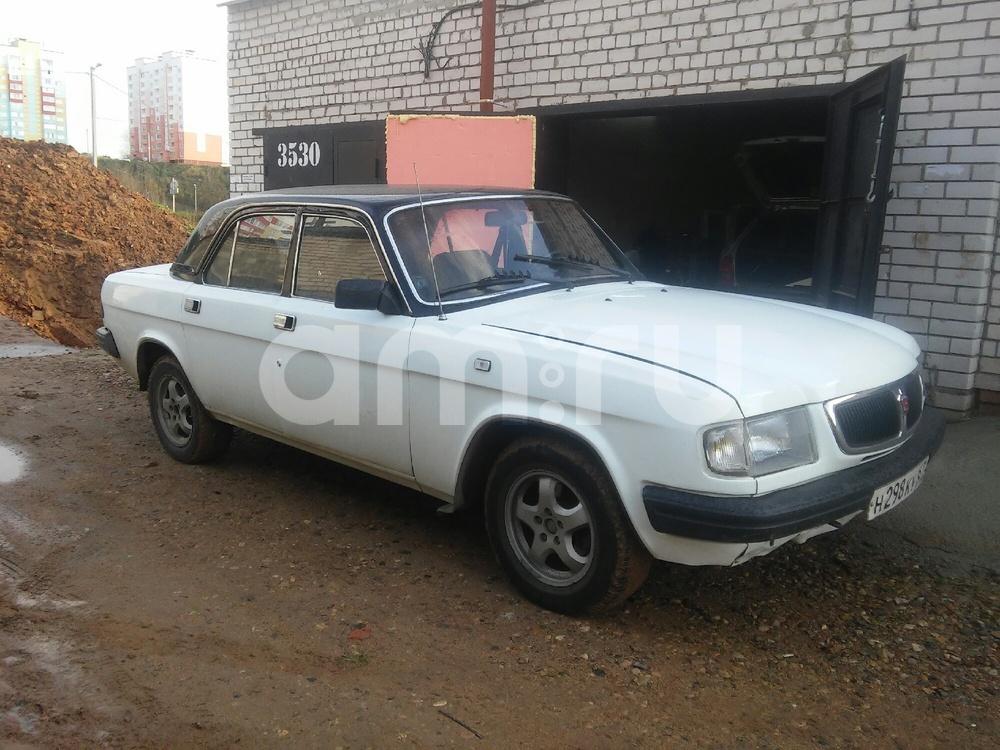 Подержанный ГАЗ 3110 Волга, отличное состояние, белый перламутр, 1999 года выпуска, цена 80 000 руб. в Смоленской области