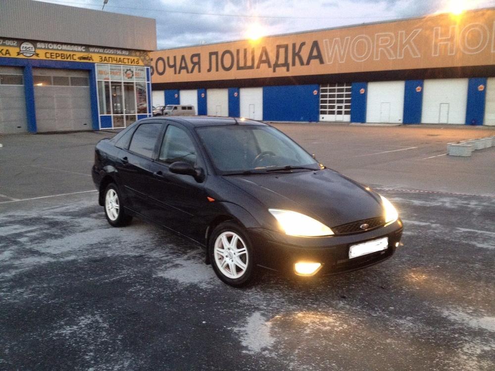 Подержанный Ford Focus, отличное состояние, черный , 2005 года выпуска, цена 209 000 руб. в Екатеринбурге